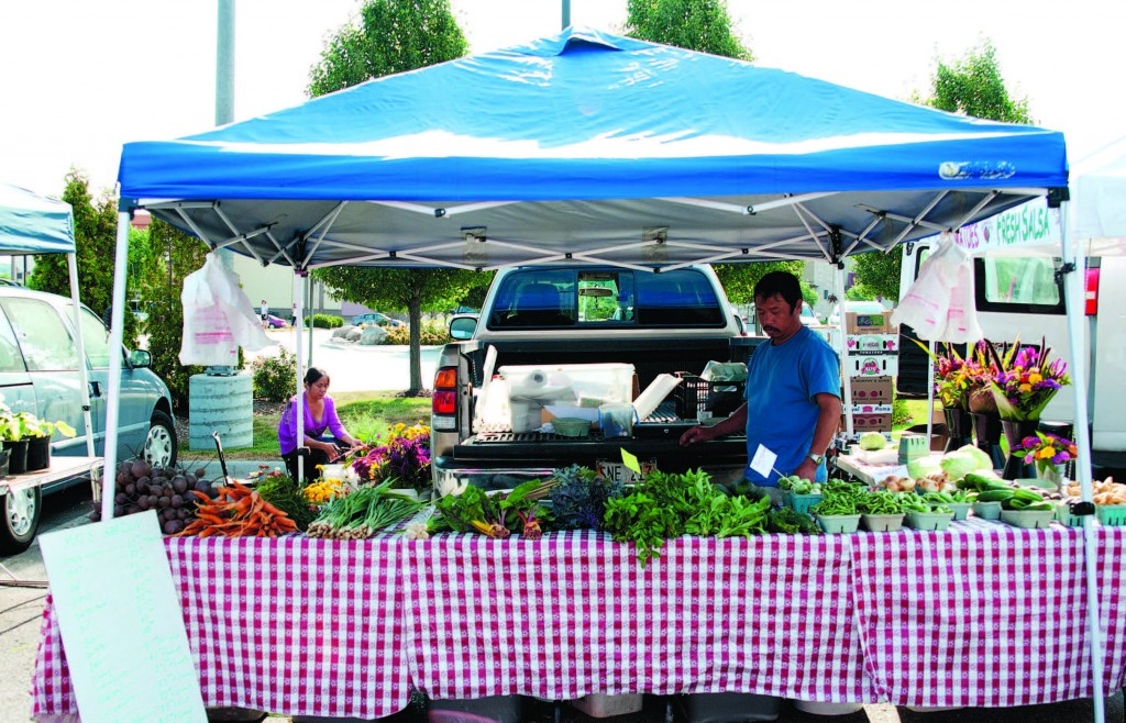 Mai's garden offers a unique array of produce and flowers to Saturday morning customers at the Village Pointe Farmers Market each week.