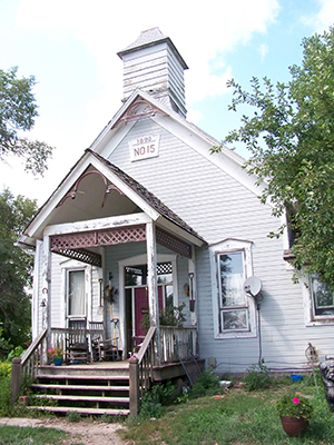 School House Gardens cultivates 10 acres on the grounds of this vintage schoolhouse in western Douglas County, where the owners also live.