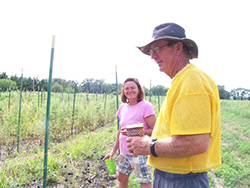 For the past 10 years, Ken Christensen and Lisa McCloskey, owners of School House Gardens, have spent their weekends tending 10 planted acres where they live in Waterloo, Nebraska, and providing fresh produce to their community.