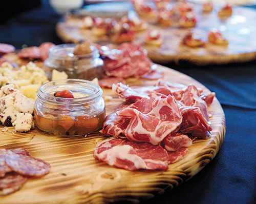 At the launch party for the cookbook held at Benson Brewery, guests sampled delightful bites while enjoying seeing the culmination of author Summer Miller's four-year journey to celebrate the foods and food artisans of Nebraska, Iowa and South Dakota.