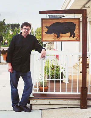 Chad Lebo is owner of Cure Cooking, an Omaha business specializing in cured meats, naturally fermented pickles and homemade cheese.