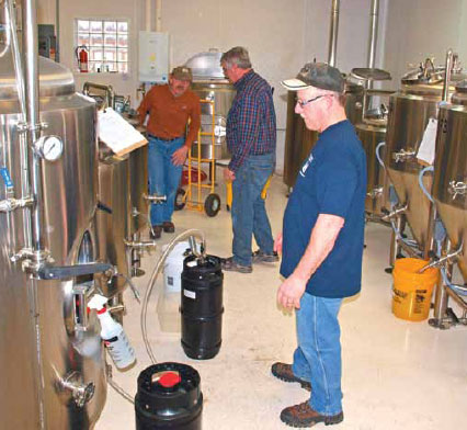 LIQUID ASSETS: Out of the Garage and into a Brewery